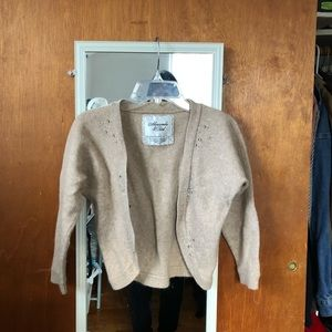 VINTAGE ABERCROMBIE AND FITCH wool cardigan